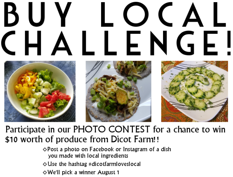 buy local challenge poster